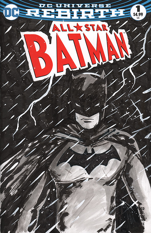 All Star Batman #1 Sketch Cover