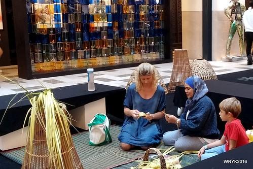 Weaving Ketupat