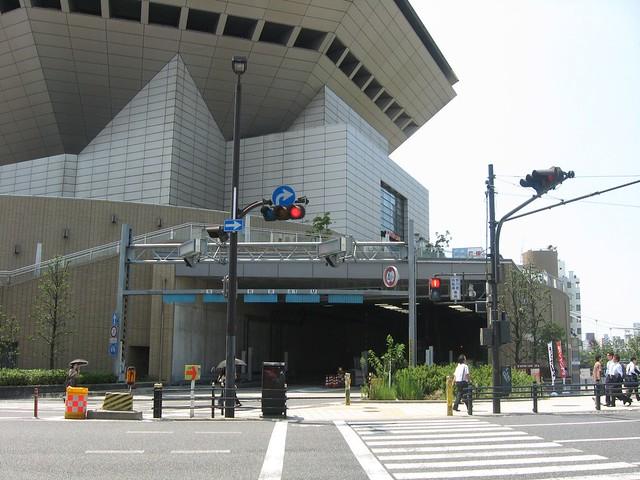 湊町リバープレイスと阪神高速の立体道路 (7)