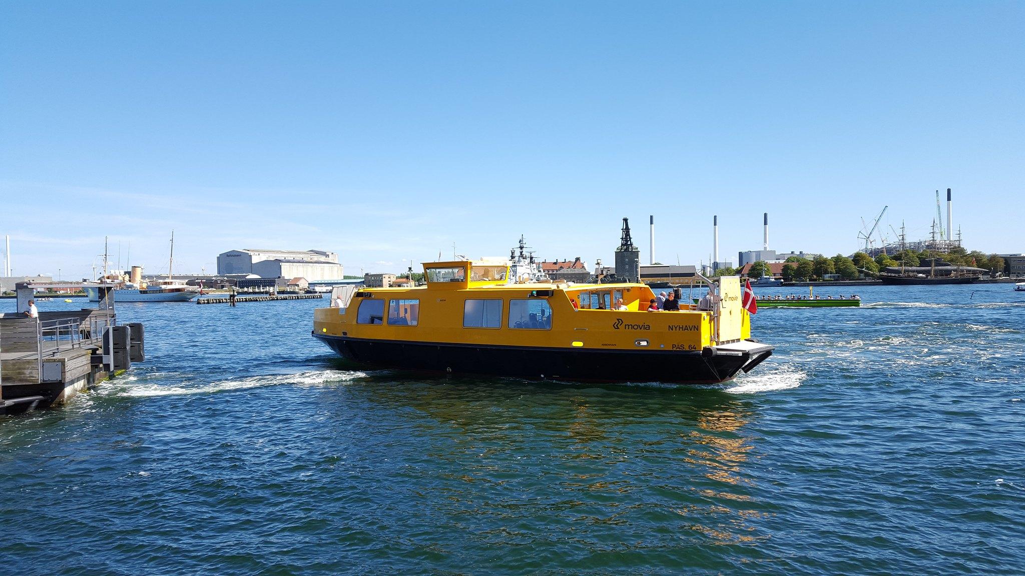 Copenhagen River Busses