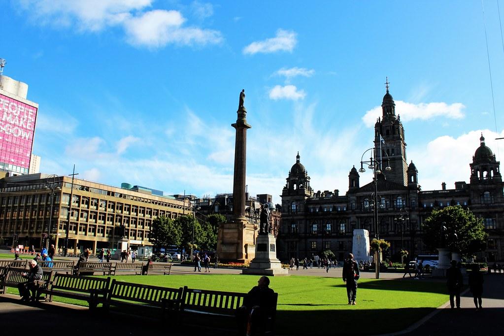 George Square, Glasgow, Scotland.