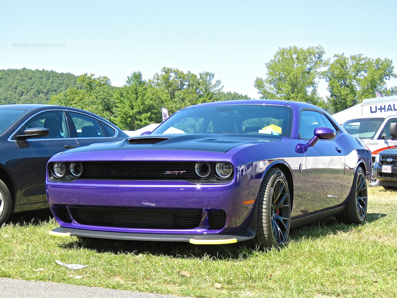 Purple Dodge Challenger Hellcat 3