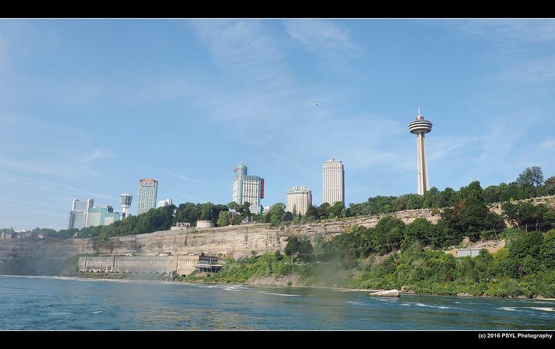Cityscape of Niagara Falls