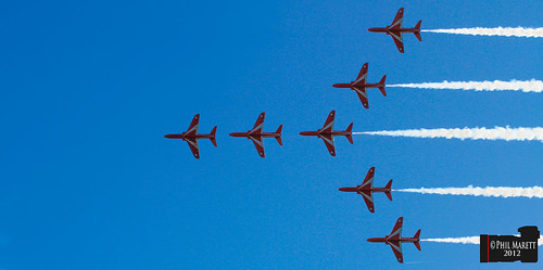 Red Arrows | by Jersey War Tours