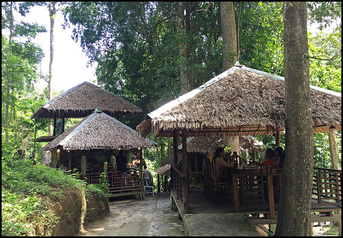 Restaurant at Wat Khao Waterfall
