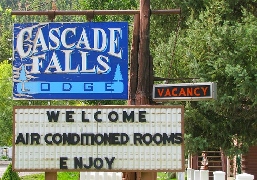 Cascade Falls Lodge | by jimsawthat