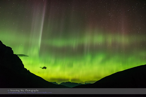 Aurora over Desolation Valley #4
