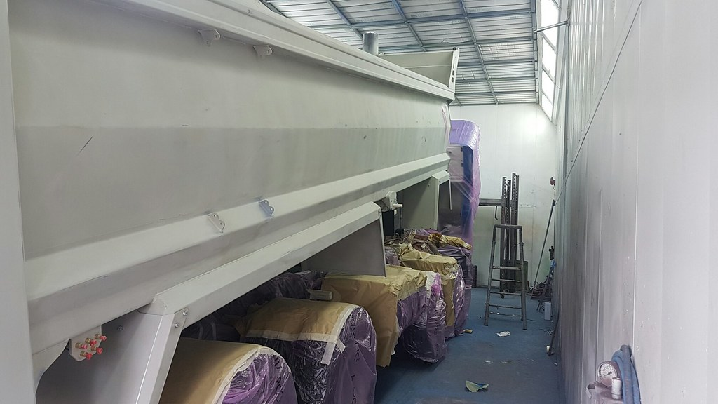 #Keltruck paintshops in #WestBromwich & #Newark