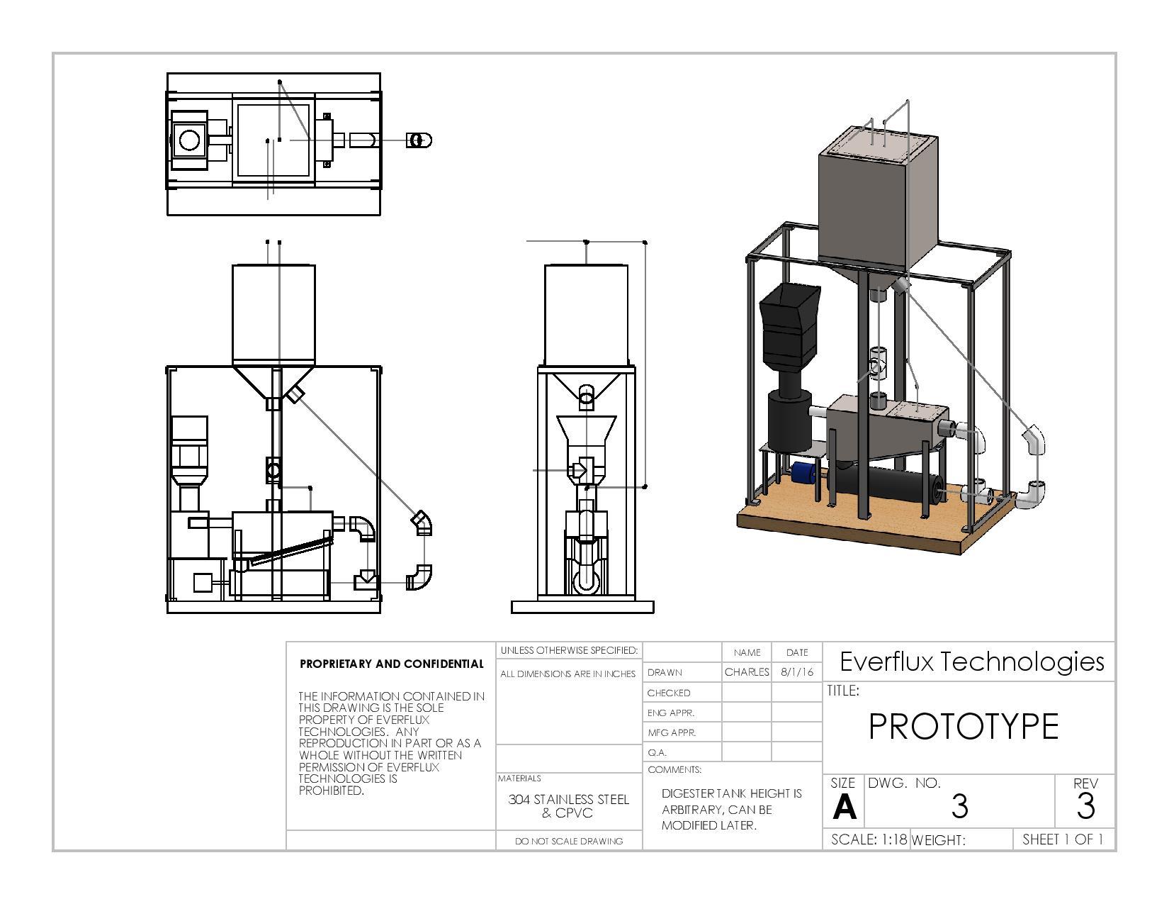 Everflux Technologies prototype