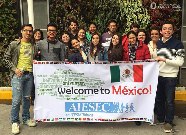 Uniagustinianos presentes en el México Good Health and Well, AIESEC