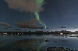 Northern light, Tromsø 13th of April 2012 | by Per Ivar Somby