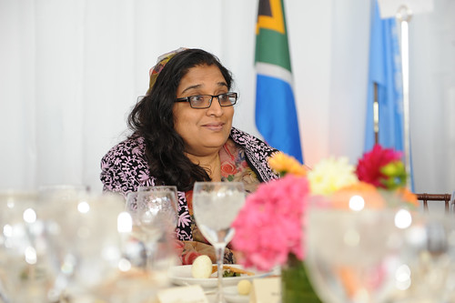 Uza Azima Shakoor, Attorney General of Maldives, attends the High-level Lunch Event on Strengthening Women's Access to Justice | by UN Women Gallery