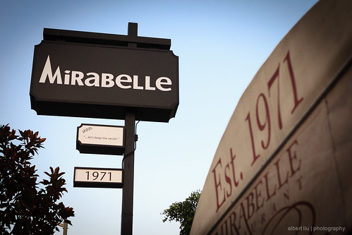 La Mirabelle Restaurant On Powell St S F In The  S