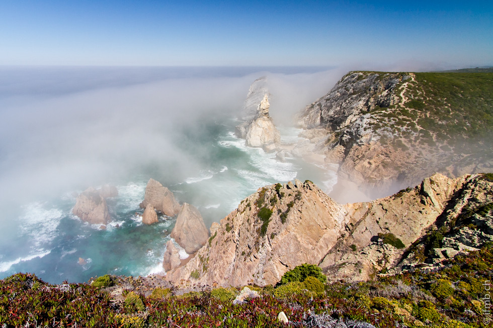 summer mist at Praia da Ursa