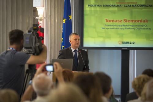 """Seminarium eksperckie """"Polityka senioralna - czas na odważne decyzje"""""""