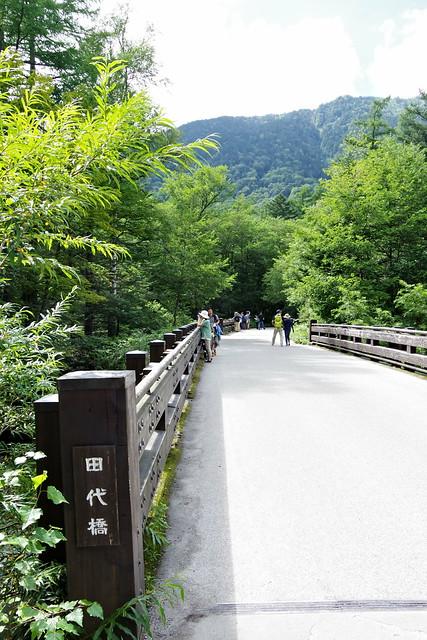 Tashiro-bashi bridge Kamikochi 2016 summer 43