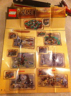 LEGO Hobbit Set Poster From Toys R Us | by tormentalous