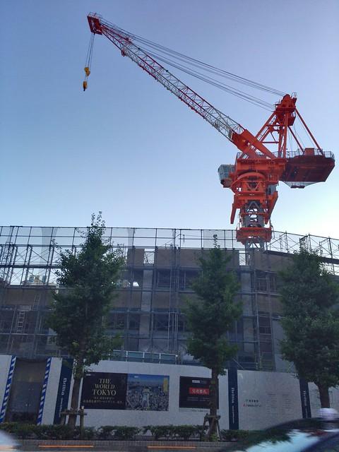 Microsoft Pix sky crane
