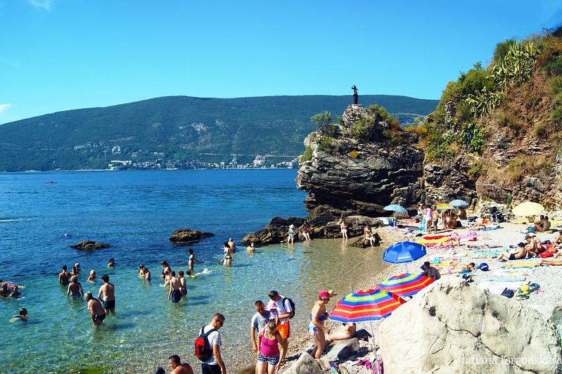Пляж в Херцег Нови