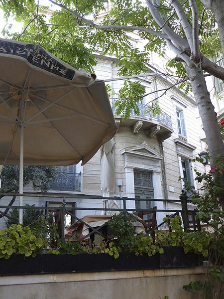 parasol à Athènes