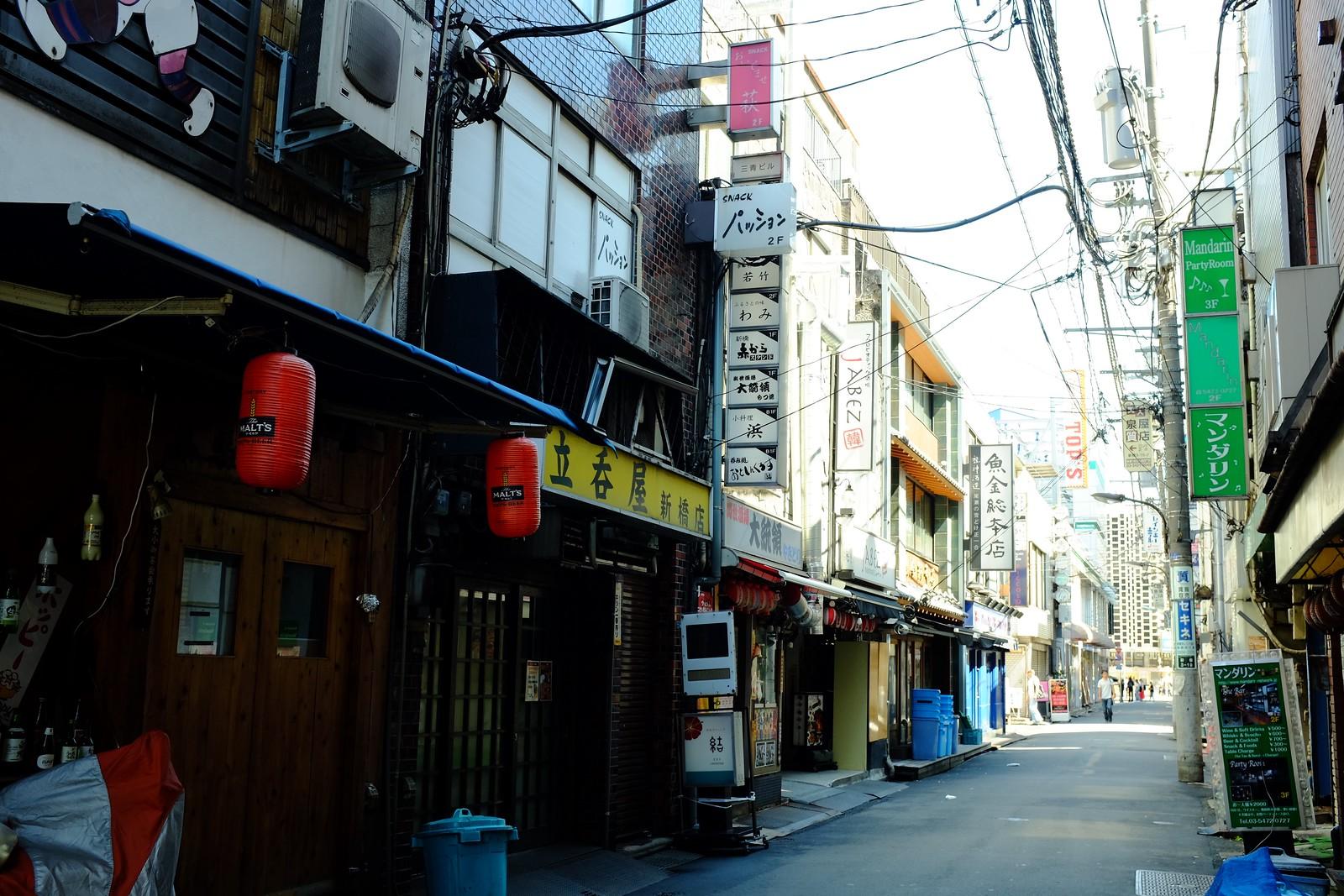 The Shinbashi in Tokyo, Japan.