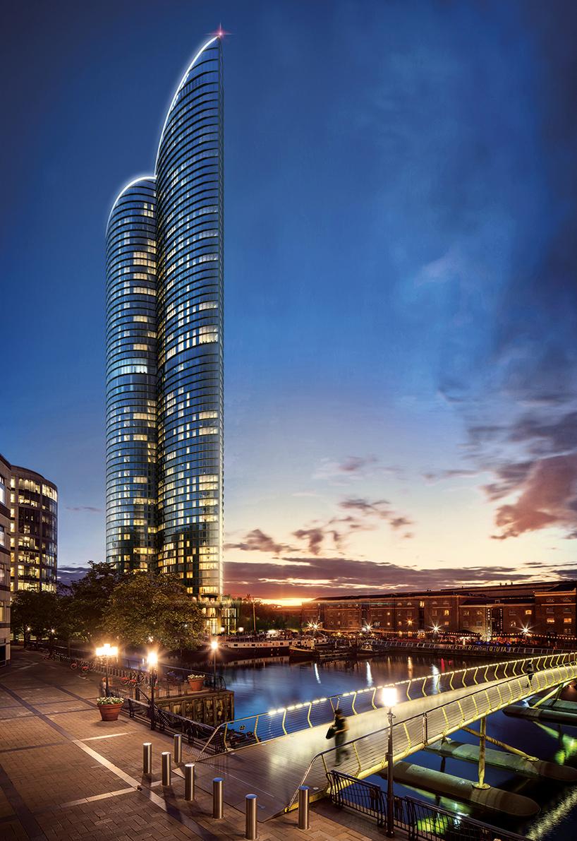 Самый высокий жилой небоскреб Лондона Spire London