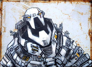 MAN-MACHINE-Acrylic-Steel-001 | by SNUB23
