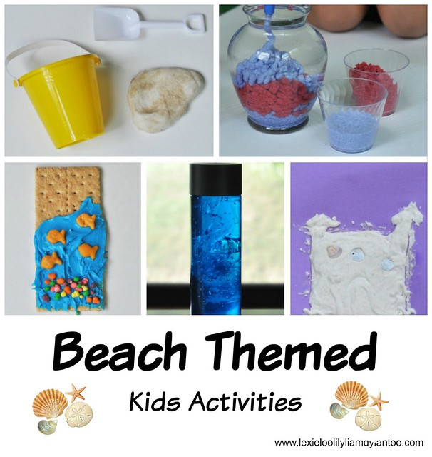 Beach Themed Kids Activities