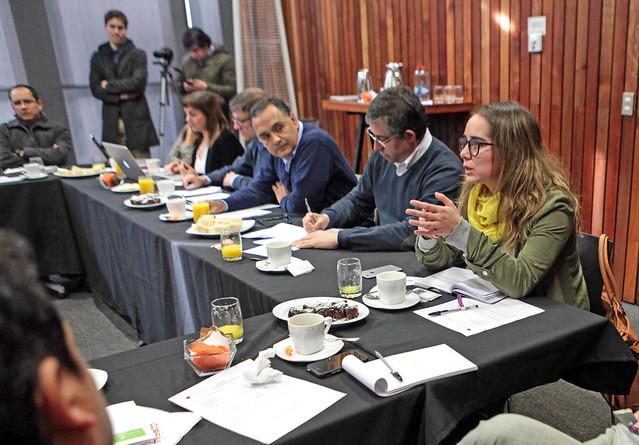 Neptuno Pumps presenta a socios del Centro de Innovación UC su reconocido modelo de Economía Circular