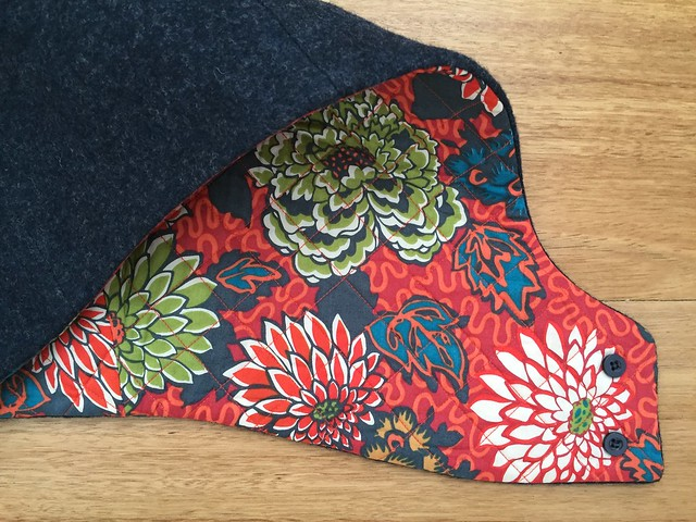 Hood Hat - Quilted Lining