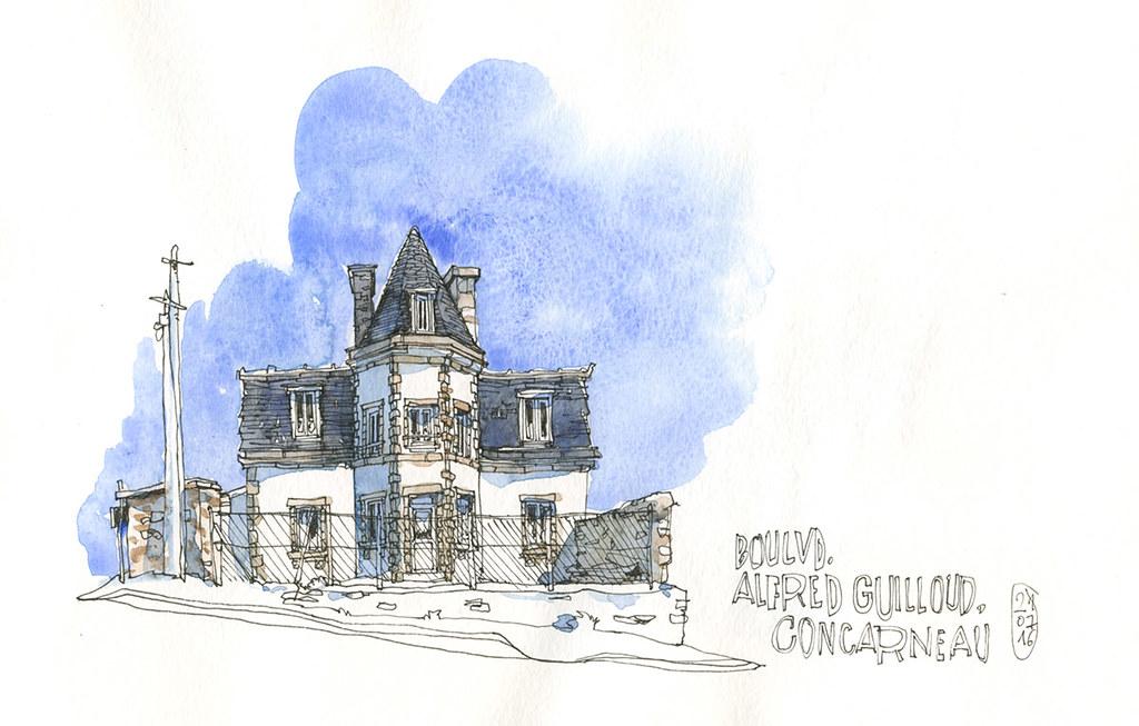 Blvd Alfred Guillou, Concarneau