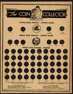 Colonial Coin and Stamp Company Coin Board C1cA2d face