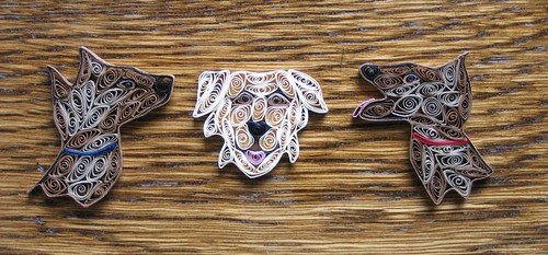 Quilled Dogs