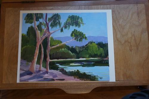 In progress: Almaden Lake Park, San Jose, CA