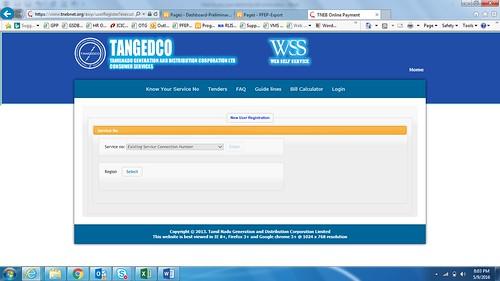 tneb online payment registration