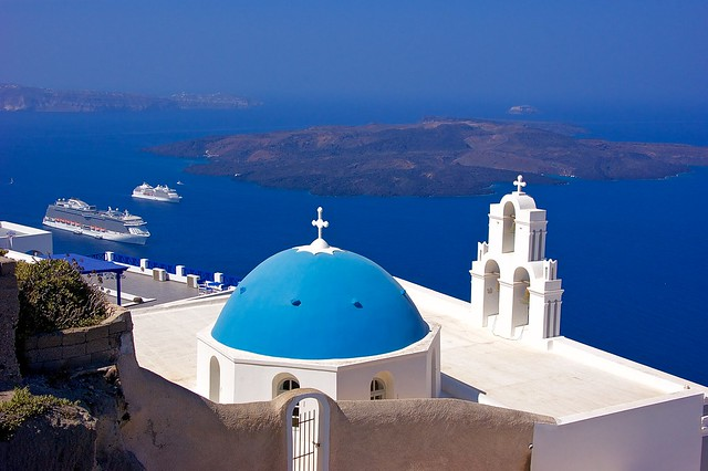Blue flavors of Greece