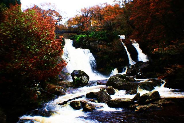 Inversnaid Falls, Loch Lomond.