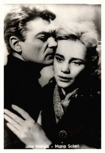 Jean Marais and Maria Schell in Le notti bianche (1957)