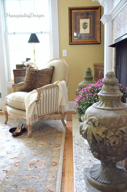 Helena Chair - Great Room - Soft Surroundings Fall Home Tour - Housepitality Designs