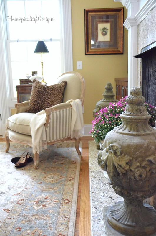 Helena Chair - Great Room - Soft Surroundings Fall Home Tour - Housepitality Designs