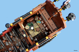 Pirate ship : La Saignante