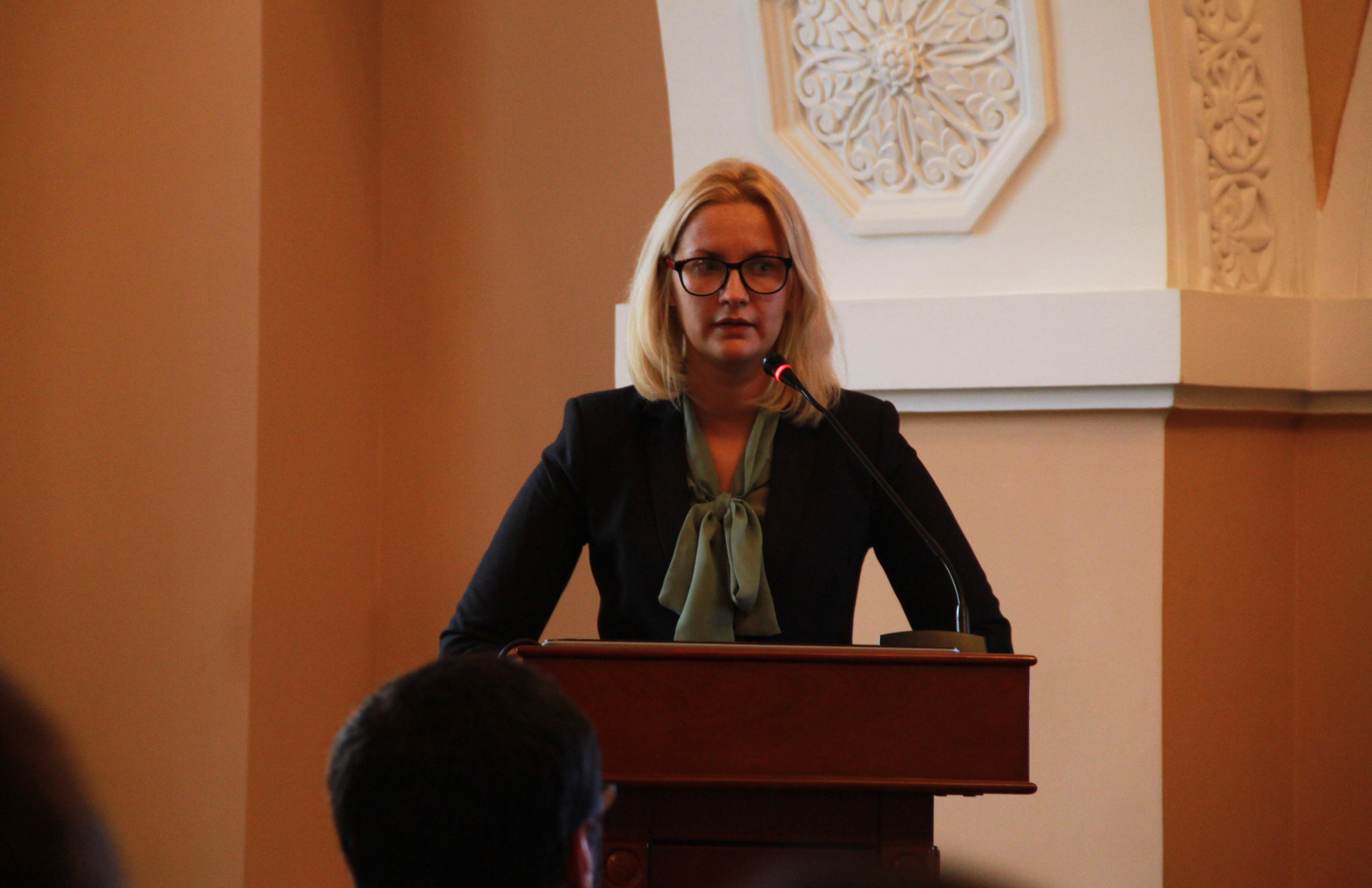 Վիկտորյա Ռոմանյուկը` Թվապատում 2016 կոնֆերանսին