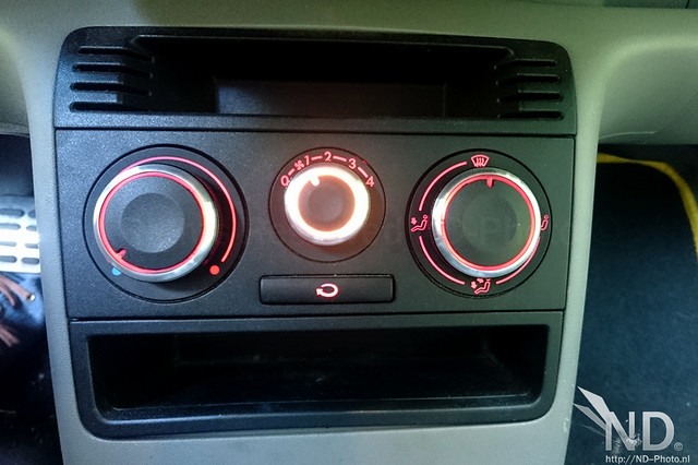 VW Lupo Luxury heater knobs