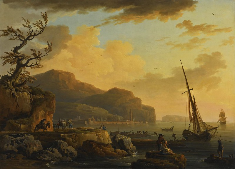 Claude-Joseph Vernet and Studio - Morning In Castellemmare