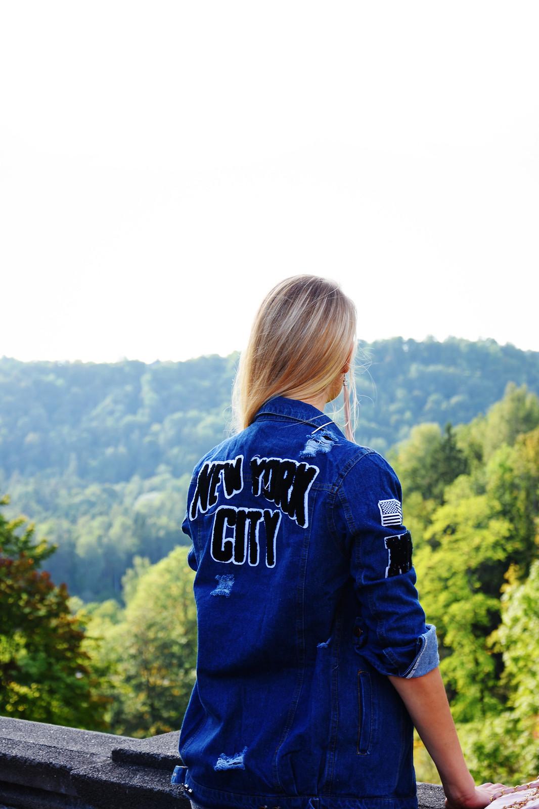Stylist, fashion blogger from Latvia