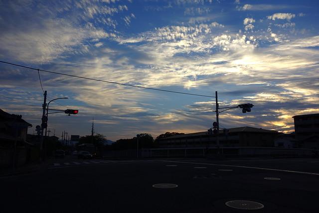 2016/09 松ヶ崎橋辺り #01