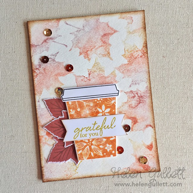 2016 Fall Coffee Lovers Blog Hop Day 8 - Hero Arts