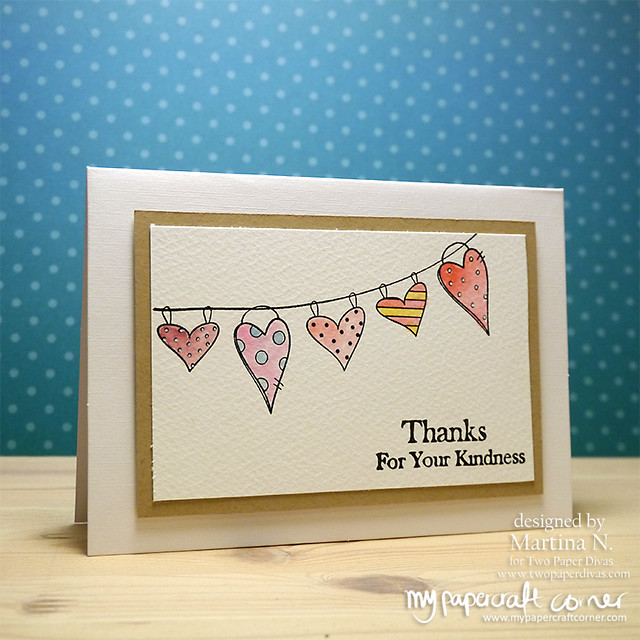 Thank you card - Card #459