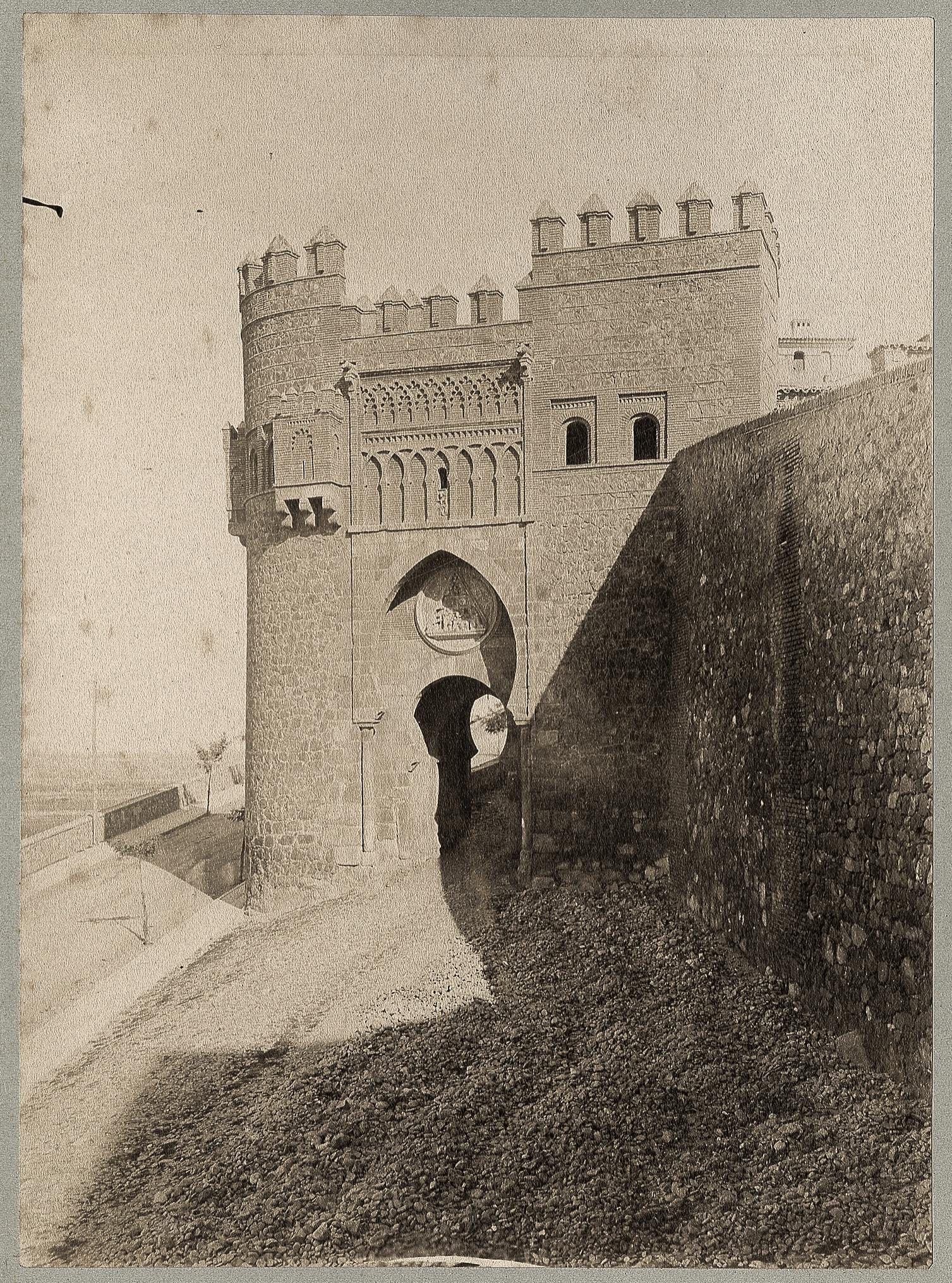 Puerta del Sol en 1886 © Archives départementales de l'Aude