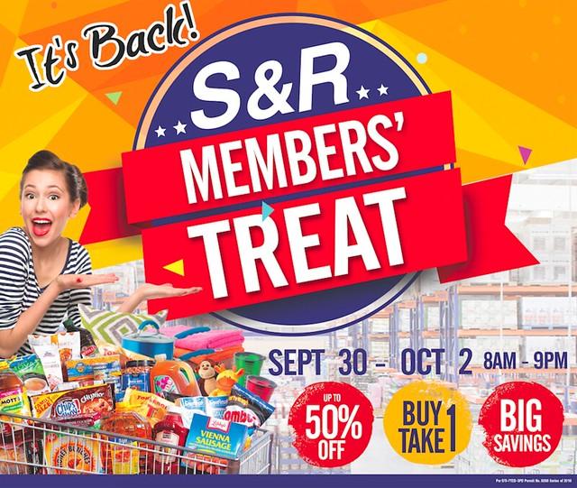 SnR Members Treat Sale